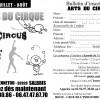 Saison d'été 2013 des ateliers de cirque à SALBRIS